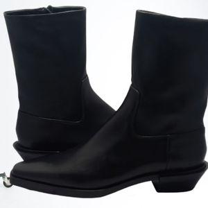 NEW Zara botin mid cowboy boots